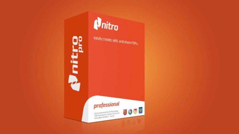 Nitro Pro Enterprise 13.35.2.685 + Crack [ Newest ]