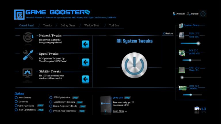 EZ Game Booster Pro 1.6.3 + Crack [Latest Version]