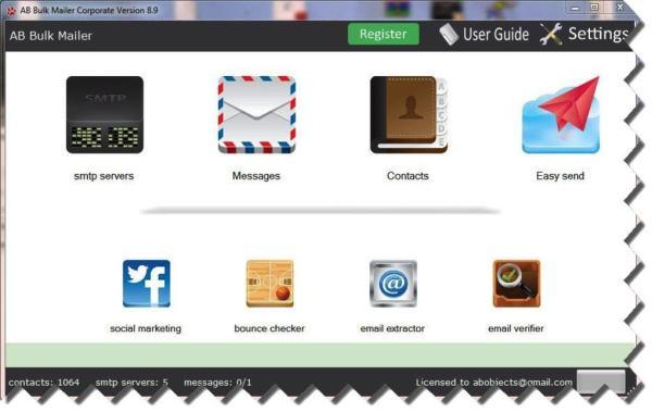 AB Bulk Mailer 10.4.2 Crack + License Key Full Download