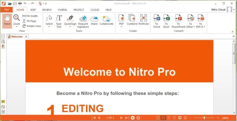 Nitro Pro Crack 13.49.2.993 + Keygen Free Download [Latest]