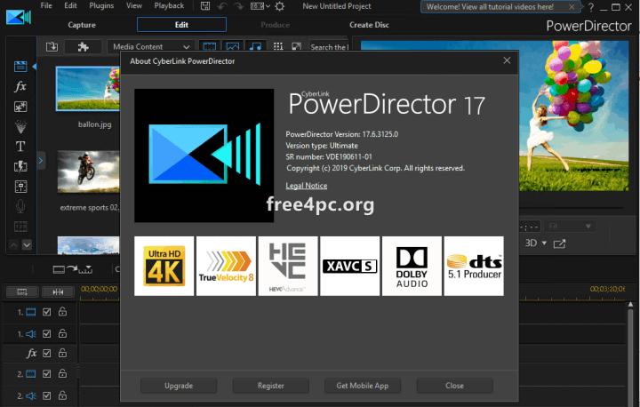 cyberlink-powerdirector-17-crack-download